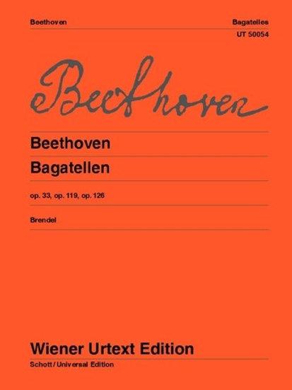 Ludwig van Beethoven: Bagatelles for piano