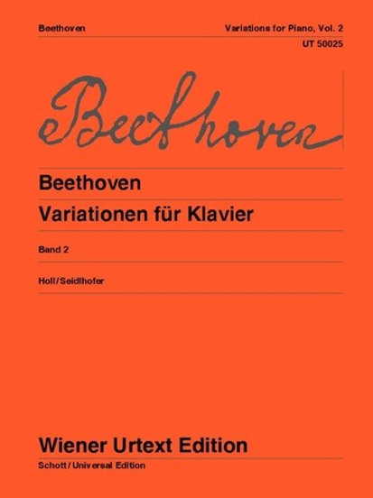 Ludwig van Beethoven: Variations for piano
