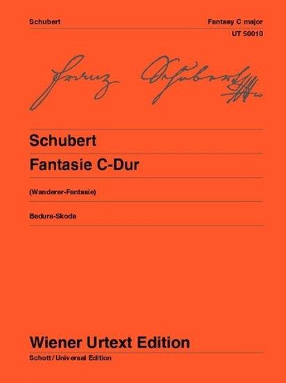 Franz Schubert: Fantasy - C major for piano op. 15 D 760