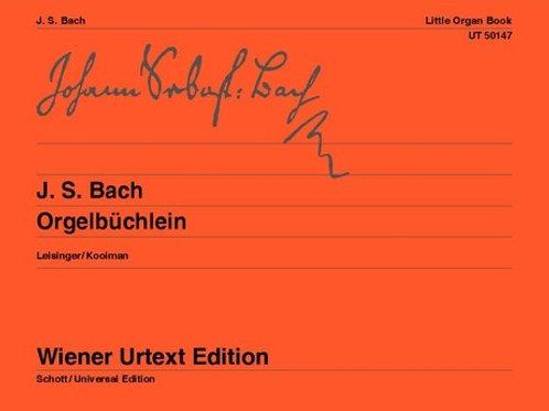 Johann Sebastian Bach: Little Organ Book for organ