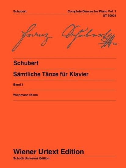 Franz Schubert: Complete Dances for piano