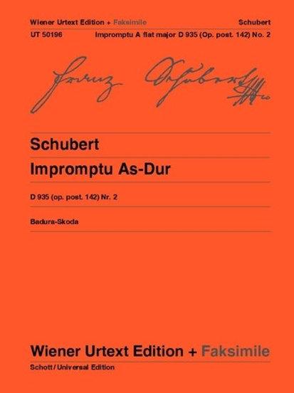Franz Schubert: Impromptu - Ab major for piano op.post. 142/2 D 935/2