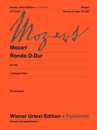 Wolfgang Amadeus Mozart: Rondo for piano