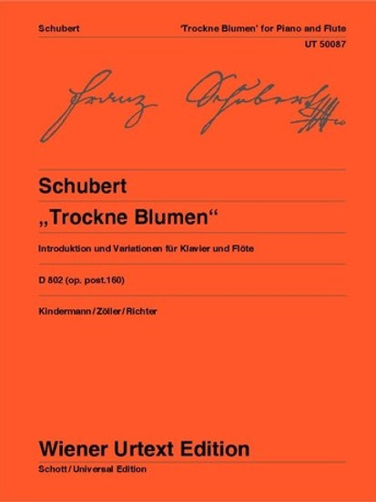 "Franz Schubert: Introduction and Variations on ""Trockne Blumen"" - E minor for f"