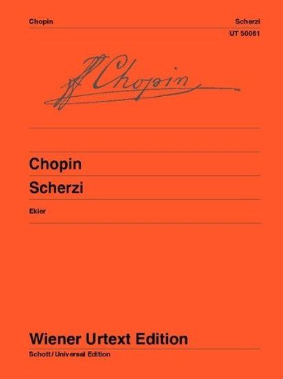 Fr?d?ric Chopin: Scherzi for piano