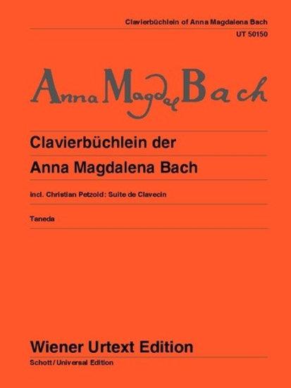 Johann Sebastian Bach: Clavierb?chlein of Anna Magdalena Bach for piano