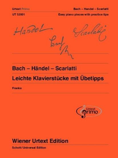 Johann Sebastian Bach: Urtext Primo Volume 1 for piano