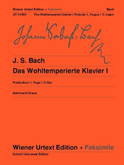 Johann Sebastian Bach: The Well Tempered Clavier for piano