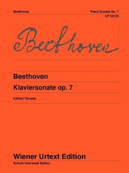 Ludwig van Beethoven: Sonata - Eb major for piano op. 7