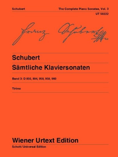 Franz Schubert: Complete Sonatas for piano