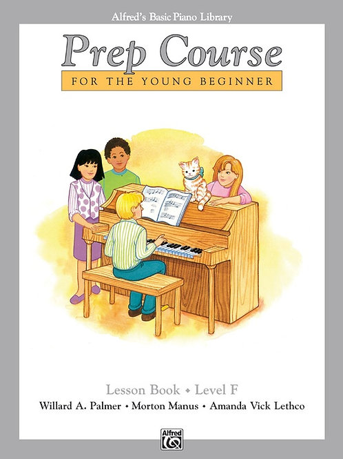 Alfred's Basic Piano Prep Course: Lesson Book F