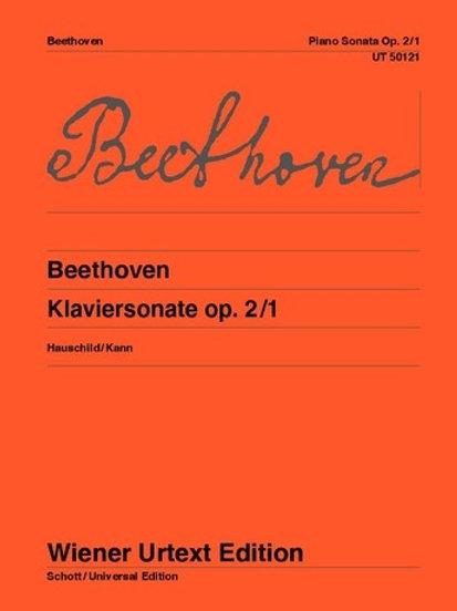 Ludwig van Beethoven: Sonata - F minor for piano op. 2/1