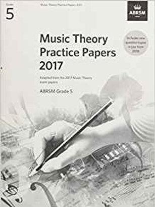 ABRSM: Music Theory Past Papers 2017, ABRSM Grade 5
