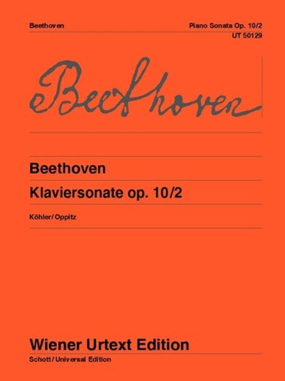 Ludwig van Beethoven: Sonata - F major for piano op. 10/2