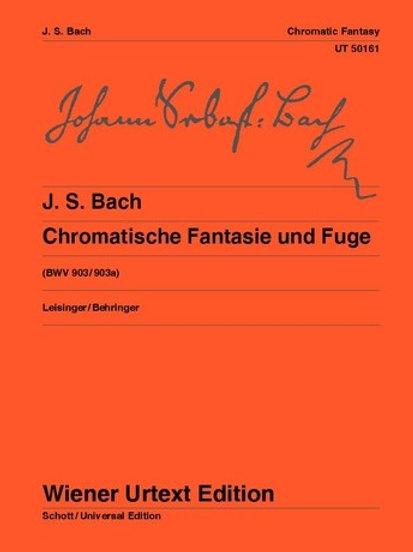 Johann Sebastian Bach: Chromatic Fantasy and Fugue for piano