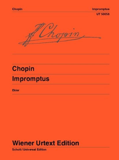 Fr?d?ric Chopin: Impromptus for piano