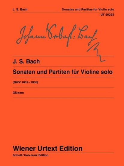 Johann Sebastian Bach: Sonatas and Partitas for violin BWV 1001�V1006