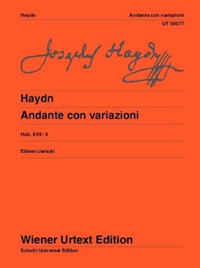 Joseph Haydn: Andante con Variazioni - F minor for piano Hob. XVII:6