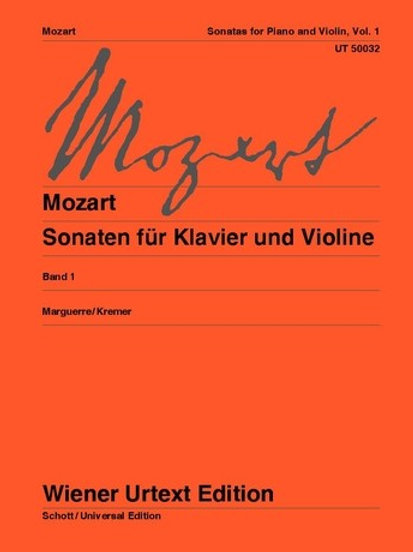 Wolfgang Amadeus Mozart: Sonatas for violin and piano