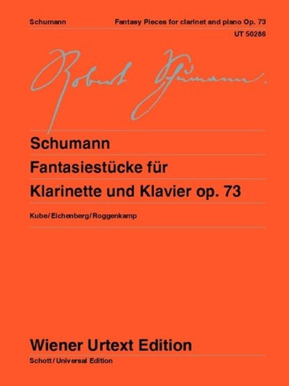 Robert Schumann: Fantasy Pieces for clarinet and piano op. 73