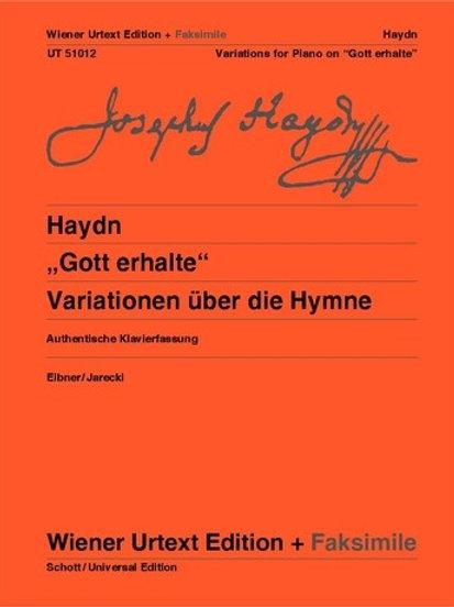 Joseph Haydn: Gott erhalte for piano for piano