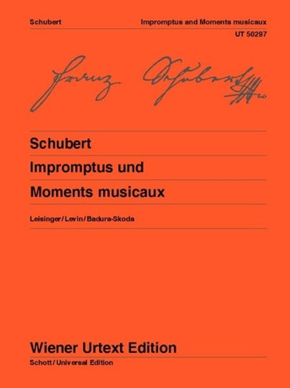 Franz Schubert: Impromptus, Moments Musicaux for piano op. 90, op. post. 142, o