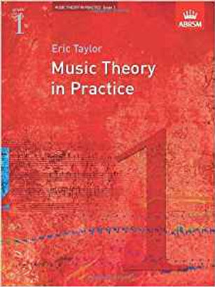 Taylor, Eric: Music Theory in Practice, Grade 1
