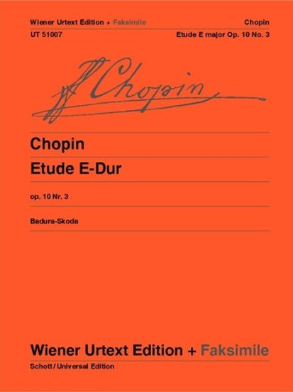 Fr?d?ric Chopin: Etude for piano op. 10/3