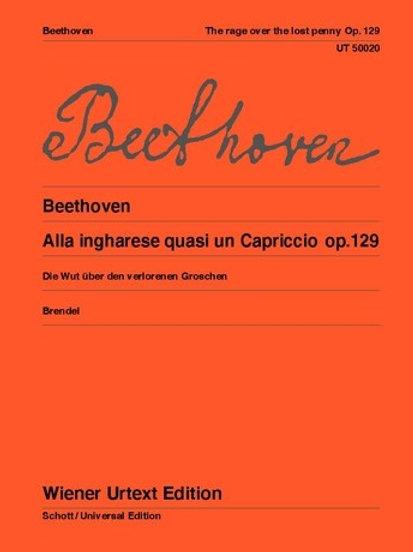 Ludwig van Beethoven: Alla ingharese ?Die Wut ?ber den verlorenen Groschen�� - G