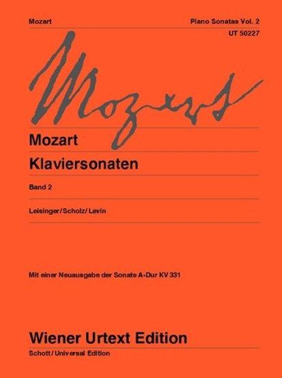 Wolfgang Amadeus Mozart: Sonatas for piano