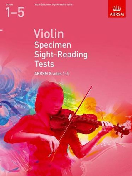 Violin Specimen Sight-Reading Tests, ABRSM Grades 1�V5