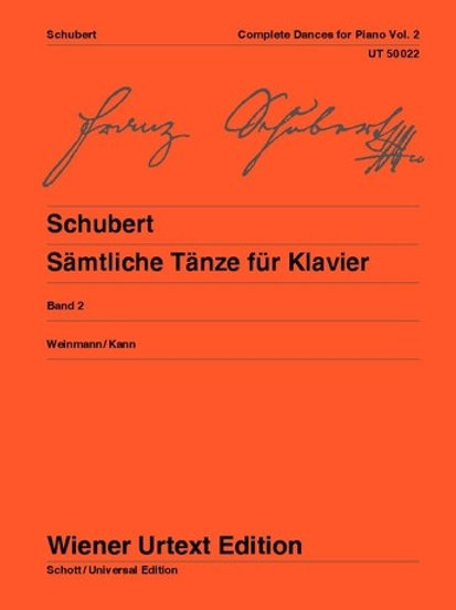 Franz Schubert: Complete Dances for piano