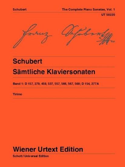 Franz Schubert: Complete Sonatas for piano
