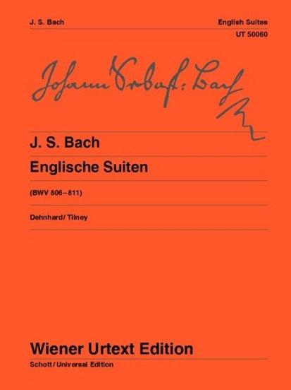Johann Sebastian Bach: English Suites for piano BWV 806�V811