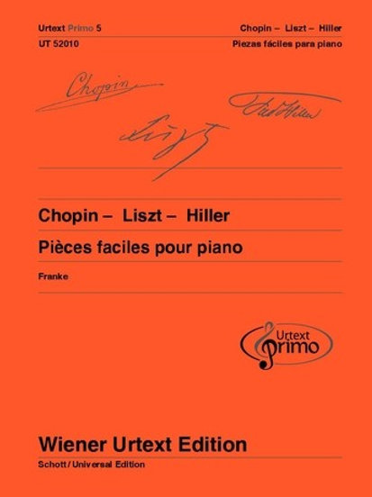 Fr?d?ric Chopin: Urtext Primo Volumen 5 for piano