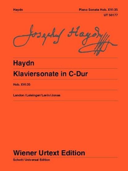 Joseph Haydn: Piano Sonata - C major for piano Hob. XVI:35