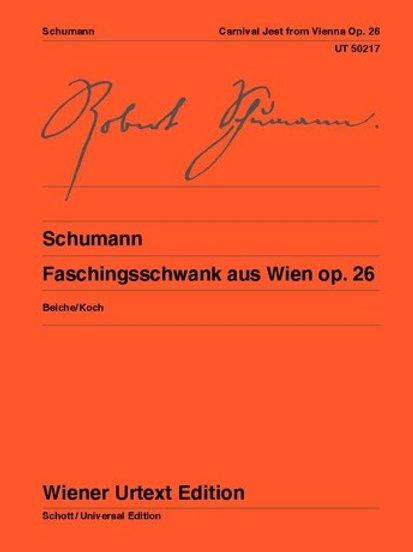 Robert Schumann: Faschingsschwank - Bb major for piano op. 26