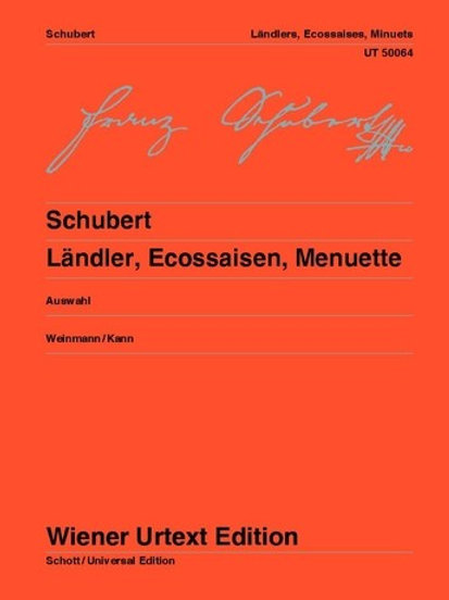 Franz Schubert: L?ndlers, Ecossaises & Minutes for piano