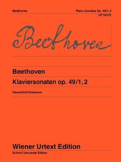 Ludwig van Beethoven: Sonata for piano op. 49