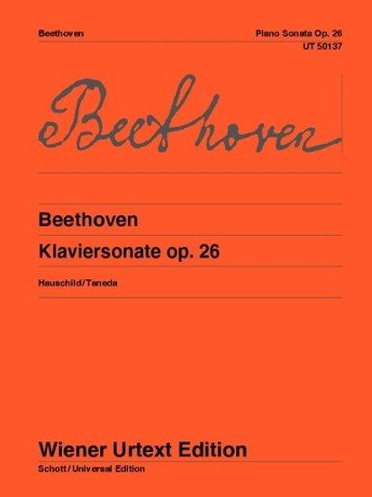 Ludwig van Beethoven: Sonata - Ab major for piano op. 26