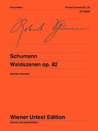 Robert Schumann: Forest Scenes for piano op. 82