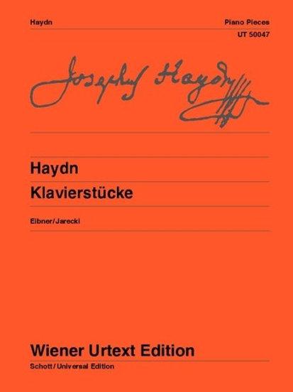 Joseph Haydn: Piano Pieces for piano
