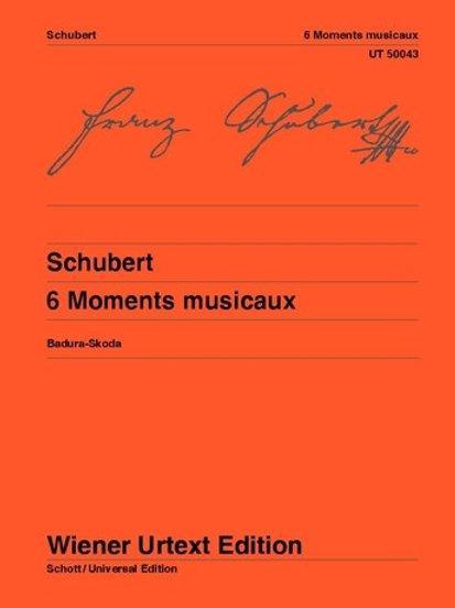 Franz Schubert: Moments Musicaux for piano op. 94 D 780