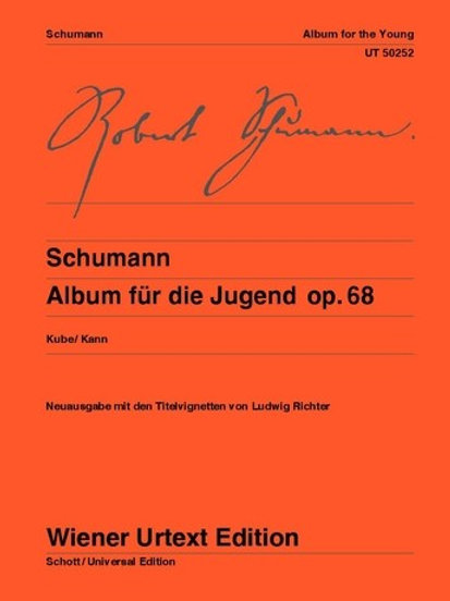 Robert Schumann: Album for the Young for piano op. 68