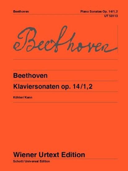 Ludwig van Beethoven: Sonatas for piano op. 14