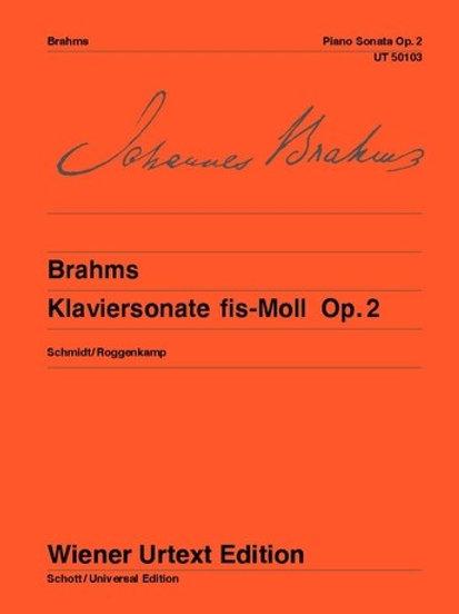 Johannes Brahms: Piano Sonata - F# minor for piano op. 2
