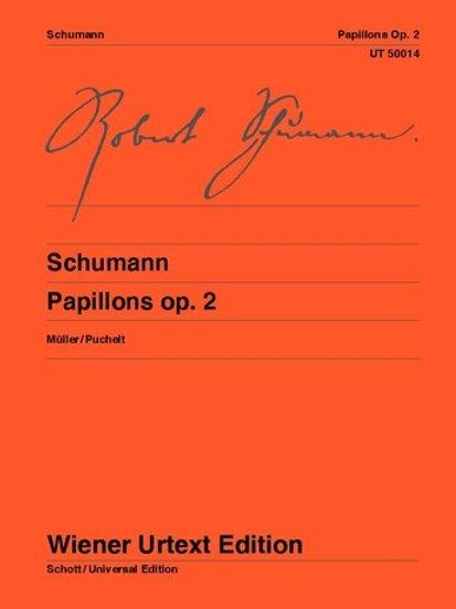 Robert Schumann: Papillons for piano op. 2