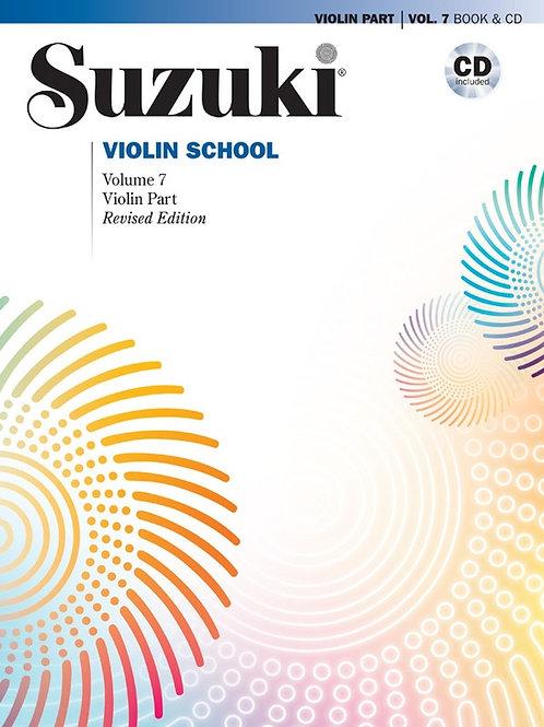 Suzuki Violin School Violin Part & CD, Volume 7 (Revised)