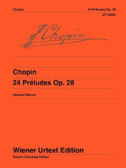 Fr?d?ric Chopin: 24 Preludes for piano op. 28