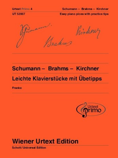 Robert Schumann: Urtext Primo Volume 4 for piano